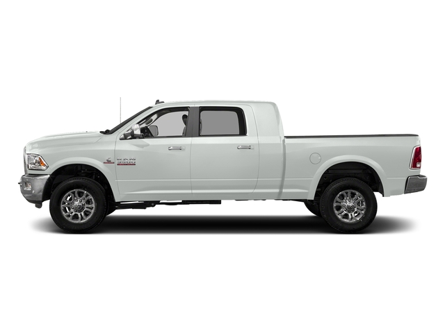 Bright White Clearcoat 2017 Ram Truck 3500 Pictures 3500 Mega Cab Longhorn 4WD photos side view