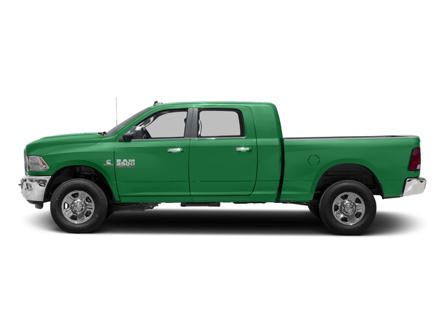 Bright Green 2017 Ram Truck 3500 Pictures 3500 Mega Cab SLT 4WD photos side view