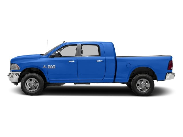 Holland Blue 2017 Ram Truck 3500 Pictures 3500 Mega Cab SLT 4WD photos side view