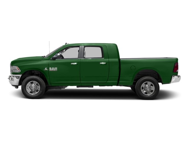 Tree Green 2017 Ram Truck 3500 Pictures 3500 SLT 4x2 Mega Cab 6'4 Box photos side view
