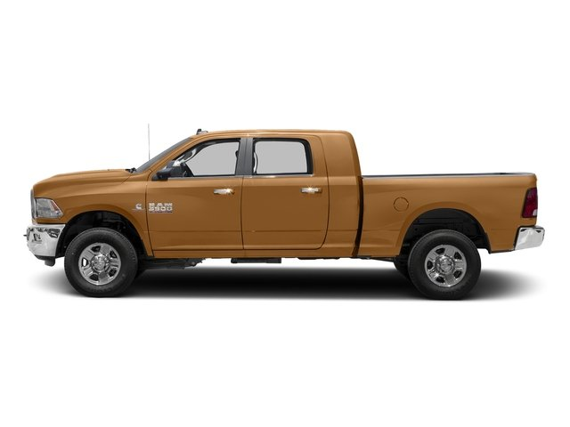 Power Tan 2017 Ram Truck 3500 Pictures 3500 Mega Cab SLT 4WD photos side view
