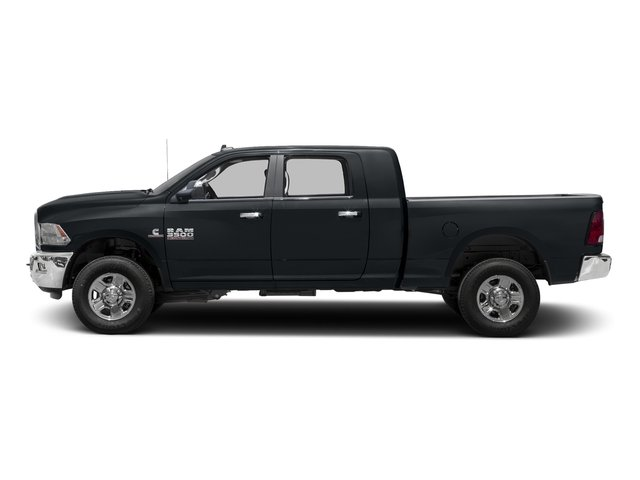 Maximum Steel Metallic Clearcoat 2017 Ram Truck 3500 Pictures 3500 Mega Cab SLT 4WD photos side view