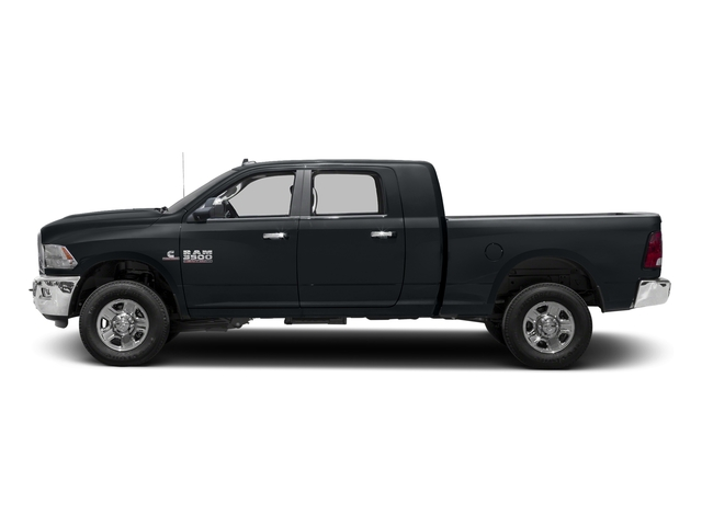 Maximum Steel Metallic Clearcoat 2017 Ram Truck 3500 Pictures 3500 SLT 4x2 Mega Cab 6'4 Box photos side view