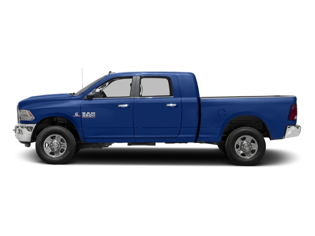 Blue Streak Pearlcoat 2017 Ram Truck 3500 Pictures 3500 SLT 4x2 Mega Cab 6'4 Box photos side view