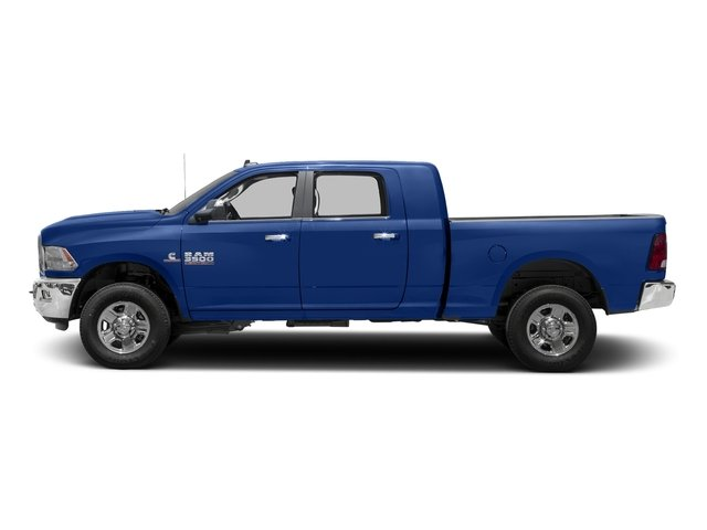Blue Streak Pearlcoat 2017 Ram Truck 3500 Pictures 3500 Mega Cab SLT 4WD photos side view