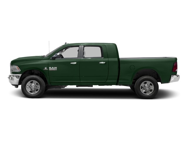 Timberline Green Pearlcoat 2017 Ram Truck 3500 Pictures 3500 SLT 4x2 Mega Cab 6'4 Box photos side view