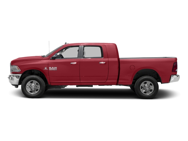 Flame Red Clearcoat 2017 Ram Truck 3500 Pictures 3500 Mega Cab SLT 4WD photos side view