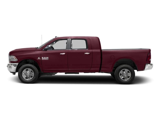 Delmonico Red Pearlcoat 2017 Ram Truck 3500 Pictures 3500 Mega Cab SLT 4WD photos side view