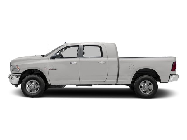 Bright Silver Metallic Clearcoat 2017 Ram Truck 3500 Pictures 3500 Mega Cab SLT 4WD photos side view