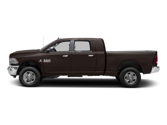 Luxury Brown Pearlcoat 2017 Ram Truck 3500 Pictures 3500 Mega Cab SLT 4WD photos side view