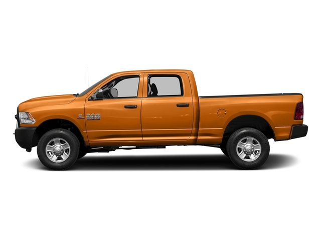 Omaha Orange 2017 Ram Truck 3500 Pictures 3500 Crew Cab Tradesman 4WD photos side view