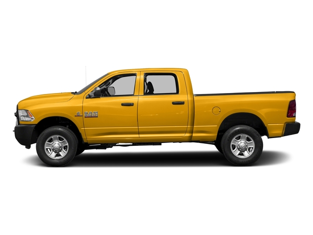Construction Yellow 2017 Ram Truck 3500 Pictures 3500 Crew Cab Tradesman 4WD photos side view