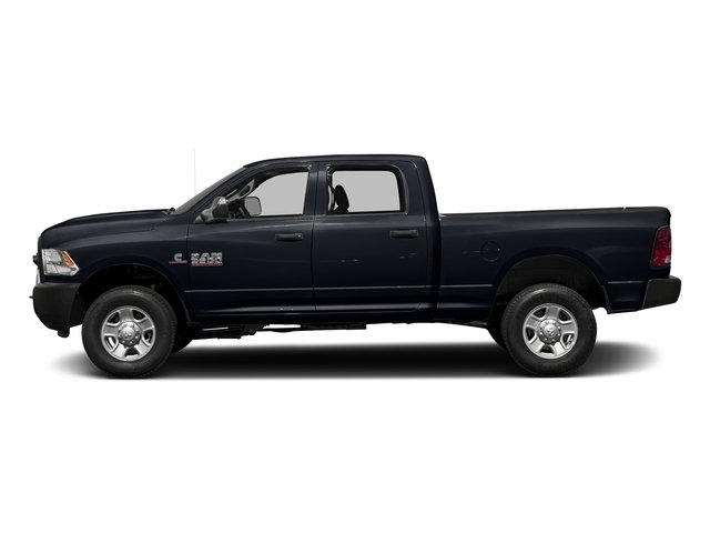 Midnight Blue Pearlcoat 2017 Ram Truck 3500 Pictures 3500 Crew Cab Tradesman 4WD photos side view