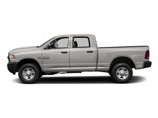 Bright Silver Metallic Clearcoat 2017 Ram Truck 3500 Pictures 3500 Crew Cab Tradesman 4WD photos side view