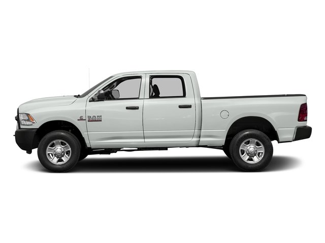 Bright White Clearcoat 2017 Ram Truck 3500 Pictures 3500 Crew Cab Tradesman 4WD photos side view