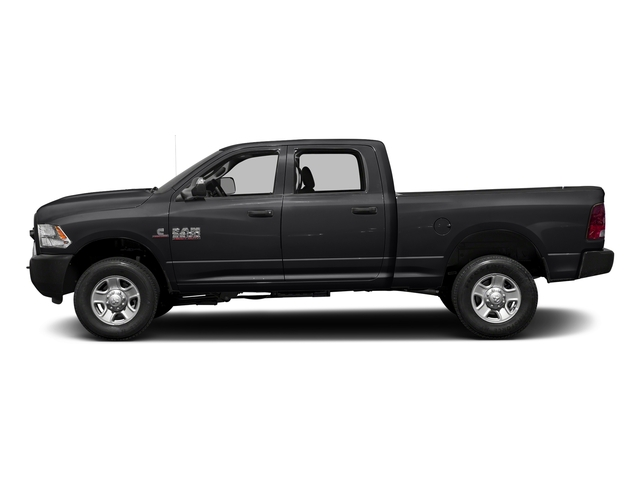 Black Clearcoat 2017 Ram Truck 3500 Pictures 3500 Crew Cab Tradesman 4WD photos side view