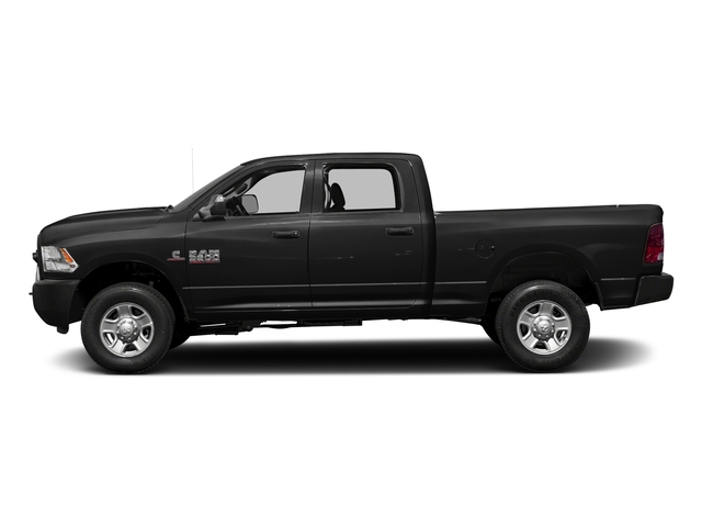 Brilliant Black Crystal Pearlcoat 2017 Ram Truck 3500 Pictures 3500 Crew Cab Tradesman 4WD photos side view