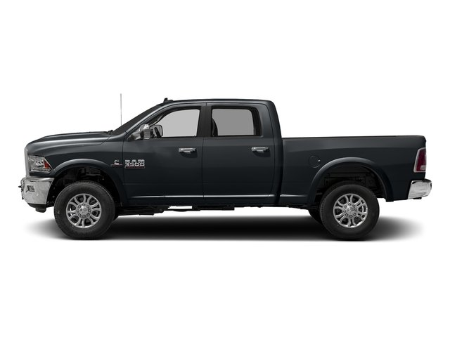 Maximum Steel Metallic Clearcoat 2017 Ram Truck 3500 Pictures 3500 Crew Cab Laramie 4WD photos side view