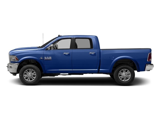 Blue Streak Pearlcoat 2017 Ram Truck 3500 Pictures 3500 Crew Cab Laramie 4WD photos side view