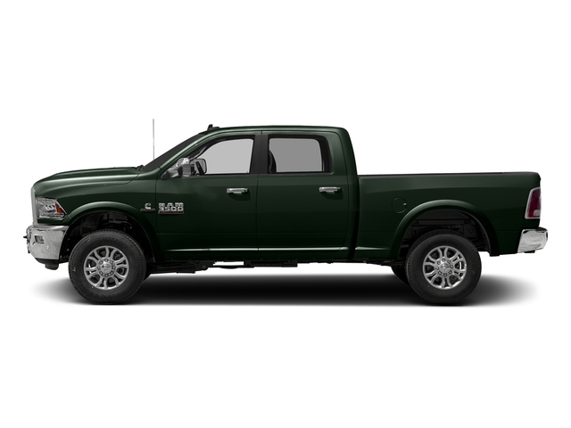 Black Forest Green Pearlcoat 2017 Ram Truck 3500 Pictures 3500 Crew Cab Laramie 4WD photos side view