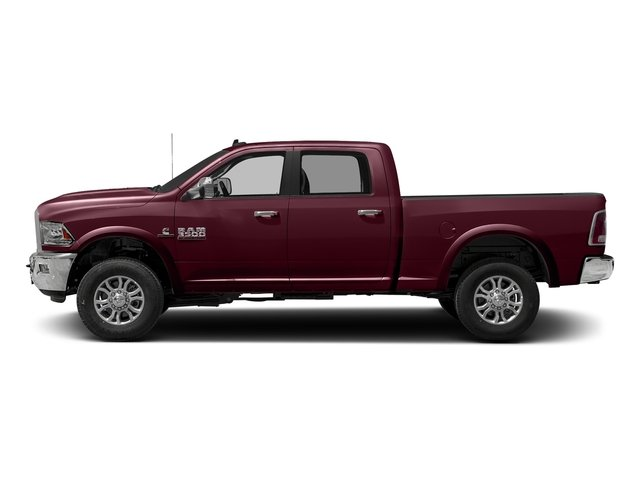 Delmonico Red Pearlcoat 2017 Ram Truck 3500 Pictures 3500 Crew Cab Laramie 4WD photos side view