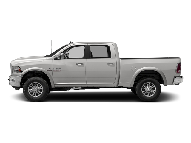 Bright Silver Metallic Clearcoat 2017 Ram Truck 3500 Pictures 3500 Crew Cab Laramie 4WD photos side view