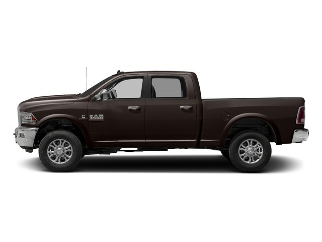 Luxury Brown Pearlcoat 2017 Ram Truck 3500 Pictures 3500 Crew Cab Laramie 4WD photos side view