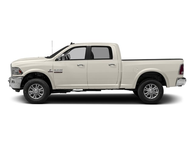 Pearl White 2017 Ram Truck 3500 Pictures 3500 Crew Cab Laramie 4WD photos side view