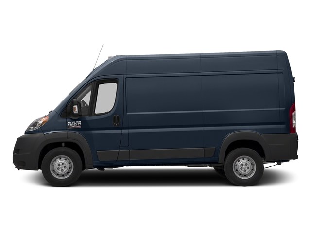 True Blue Pearlcoat 2017 Ram Truck ProMaster Cargo Van Pictures ProMaster Cargo Van 1500 High Roof 136 WB photos side view