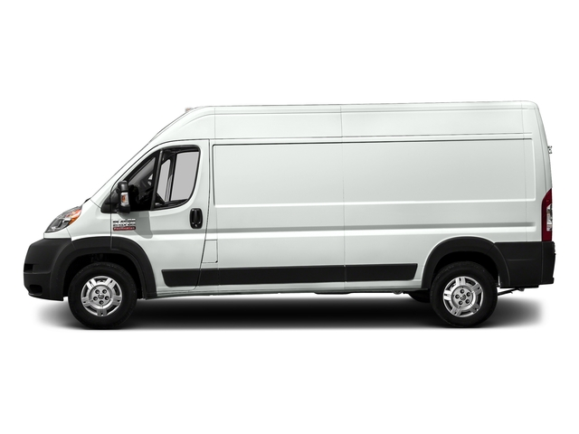 Bright White Clearcoat 2017 Ram Truck ProMaster Cargo Van Pictures ProMaster Cargo Van 3500 High Roof 159 WB photos side view
