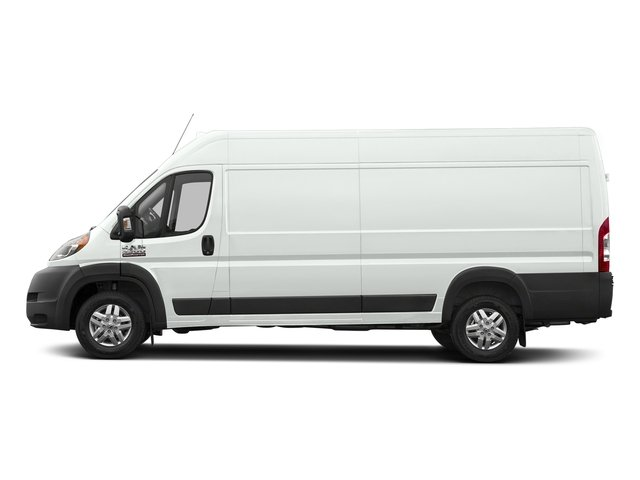 Bright White Clearcoat 2017 Ram Truck ProMaster Cargo Van Pictures ProMaster Cargo Van 3500 High Roof 159 WB EXT photos side view