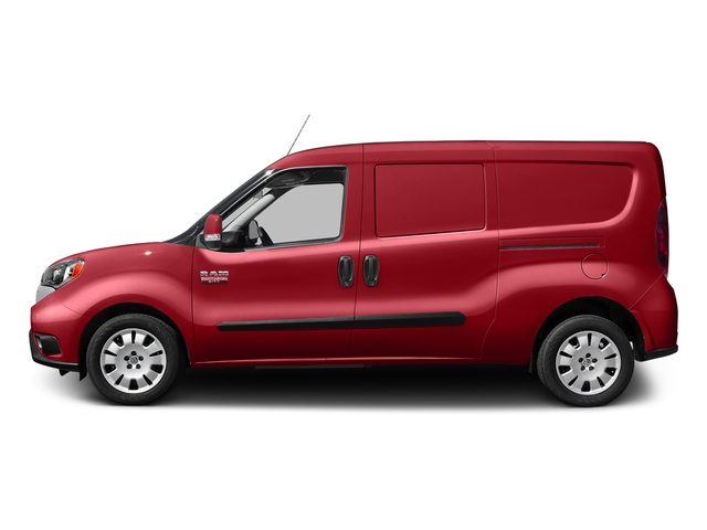 Bright Red 2017 Ram Truck ProMaster City Cargo Van Pictures ProMaster City Cargo Van Tradesman SLT Van photos side view