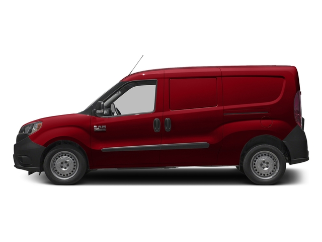 Bright Red 2017 Ram Truck ProMaster City Cargo Van Pictures ProMaster City Cargo Van Tradesman Van photos side view