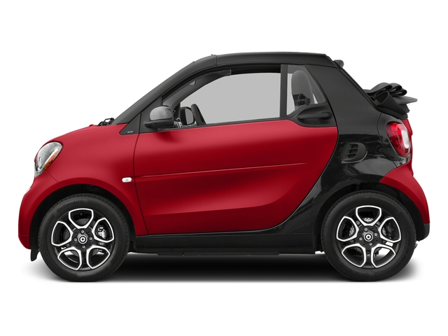 Red 2017 smart fortwo Pictures fortwo Convertible 2D Prime I3 Turbo photos side view