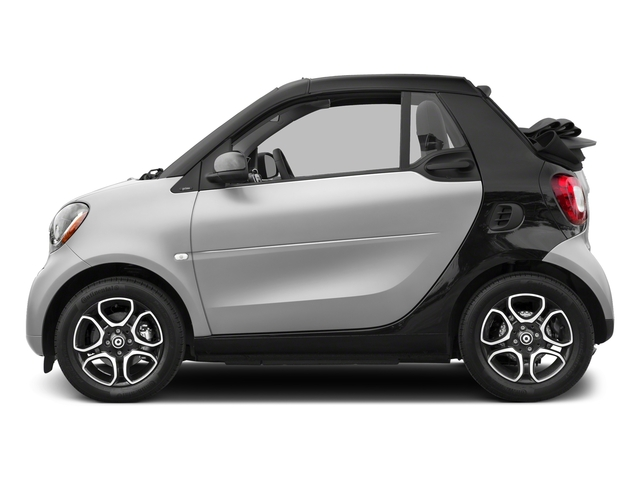 Cool Silver Metallic 2017 smart fortwo Pictures fortwo Convertible 2D Prime I3 Turbo photos side view