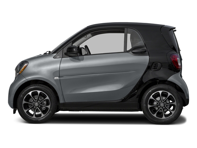 Titania Grey Matte 2017 smart fortwo Pictures fortwo Coupe 2D Pure I3 Turbo photos side view