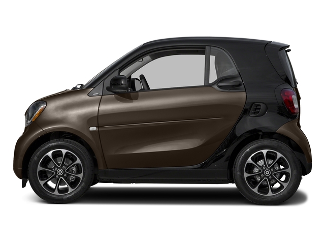 Hazel Brown Metallic 2017 smart fortwo Pictures fortwo Coupe 2D Pure I3 Turbo photos side view