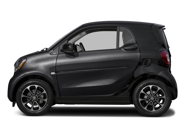 Black 2017 smart fortwo Pictures fortwo Coupe 2D Pure I3 Turbo photos side view