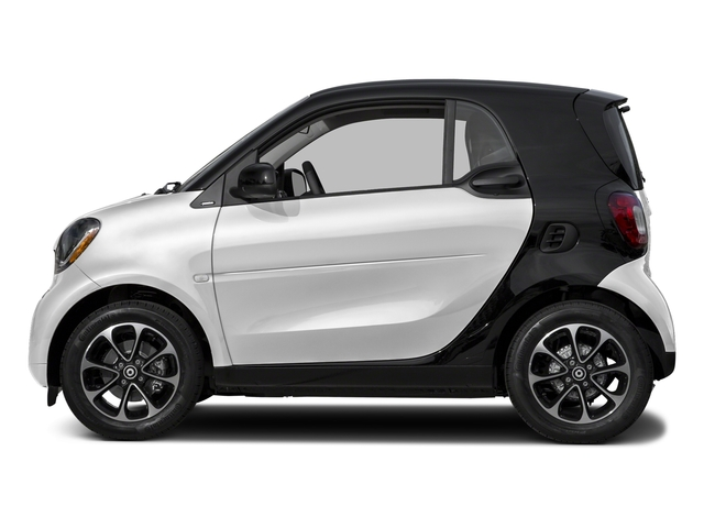 Cool Silver Metallic 2017 smart fortwo Pictures fortwo Coupe 2D Pure I3 Turbo photos side view