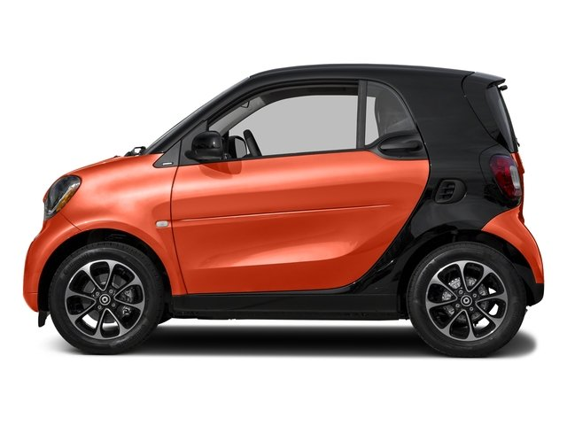 Lava Orange Metallic 2017 smart fortwo Pictures fortwo Coupe 2D Pure I3 Turbo photos side view