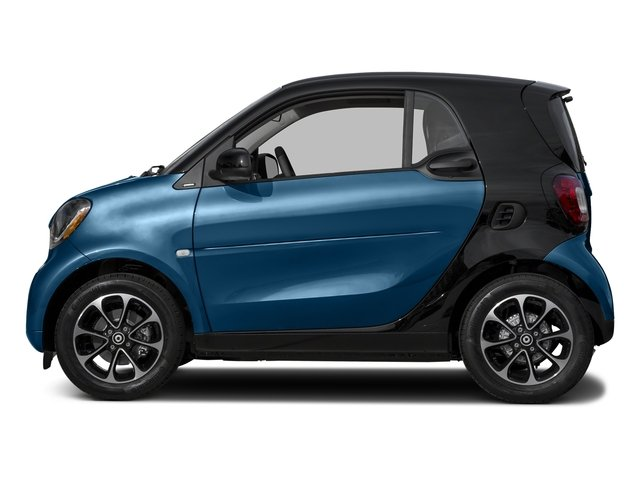 Midnight Blue Metallic 2017 smart fortwo Pictures fortwo Coupe 2D Pure I3 Turbo photos side view