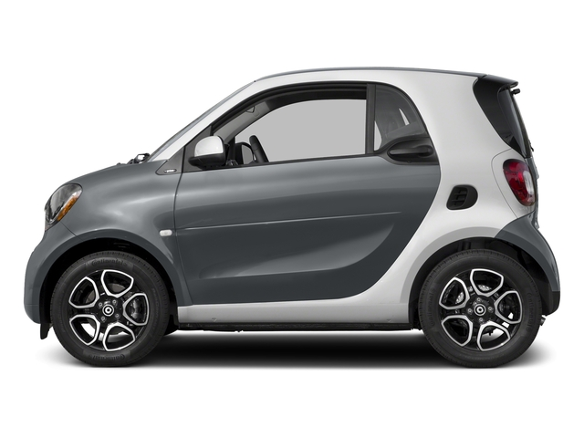 Titania Grey Matte 2017 smart fortwo Pictures fortwo Coupe 2D Proxy I3 Turbo photos side view