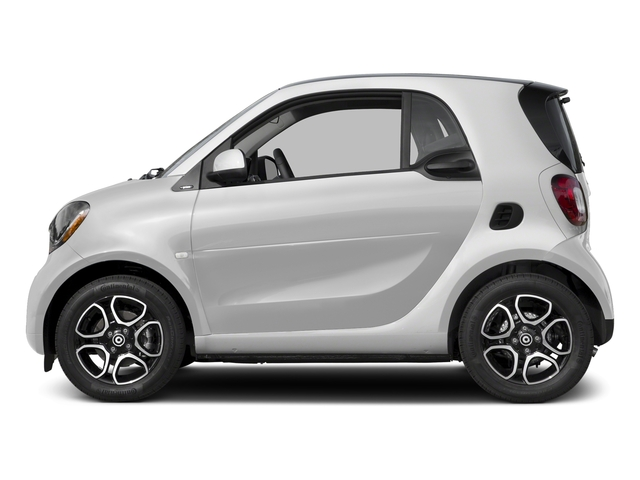 White 2017 smart fortwo Pictures fortwo Coupe 2D Proxy I3 Turbo photos side view