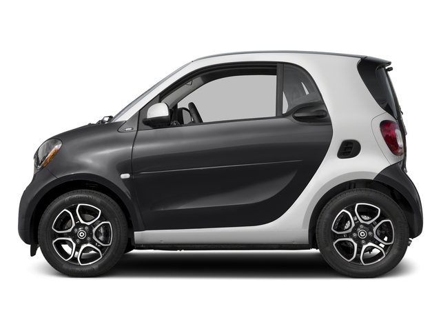 Black 2017 smart fortwo Pictures fortwo Coupe 2D Proxy I3 Turbo photos side view