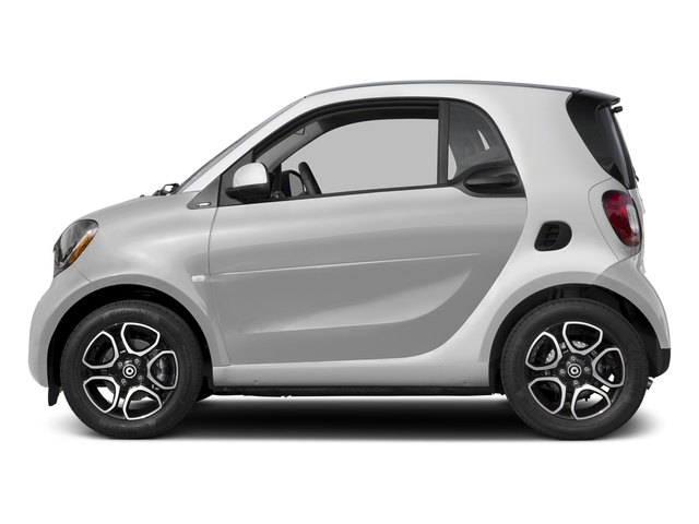 Cool Silver Metallic 2017 smart fortwo Pictures fortwo Coupe 2D Proxy I3 Turbo photos side view