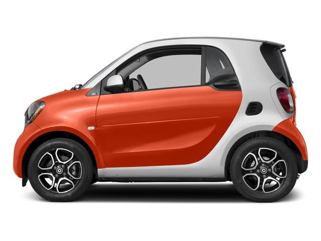 Lava Orange Metallic 2017 smart fortwo Pictures fortwo Coupe 2D Proxy I3 Turbo photos side view