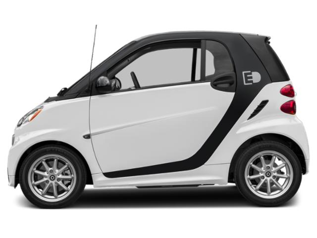 White 2017 smart fortwo electric drive Pictures fortwo electric drive Coupe 2D Passion Electric photos side view