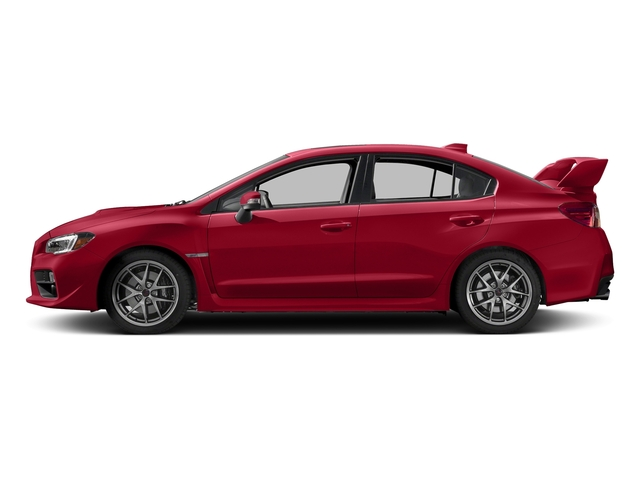 Pure Red 2017 Subaru Wrx Pictures Sti Limited Manual W Wing Spoiler Photos Side