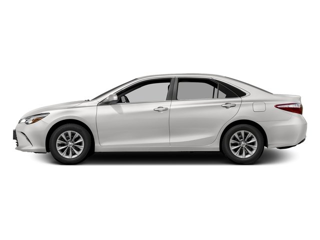 Super White 2017 Toyota Camry Pictures Camry Sedan 4D XLE I4 photos side view