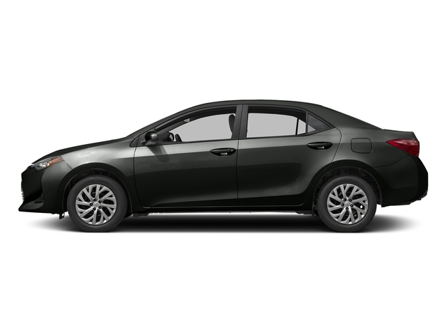 Black Sand Pearl 2017 Toyota Corolla Pictures Corolla Sedan 4D L I4 photos side view